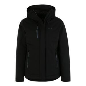 JACK WOLFSKIN Outdoorová bunda 'TROPOSPHERE'  černá