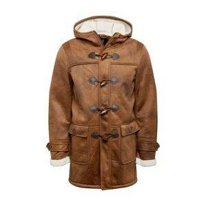 INDICODE JEANS Zimní kabát  hnědá