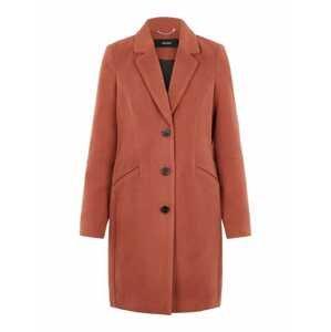 VERO MODA Přechodný kabát  rezavě červená