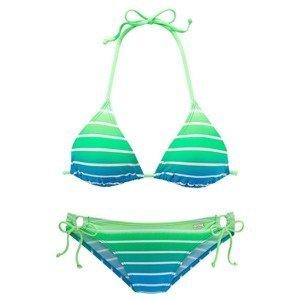 VENICE BEACH Bikiny  bílá / nebeská modř / svítivě zelená