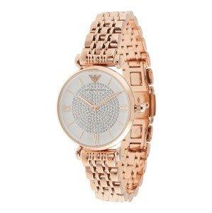 Emporio Armani Analogové hodinky  růžově zlatá