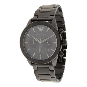 Emporio Armani Analogové hodinky  černá
