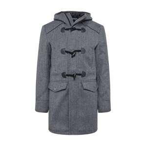 INDICODE JEANS Zimní kabát 'Liam Solid'  šedá