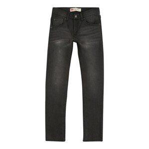 LEVI'S Džíny '510 Skinny Fit'  černá džínovina
