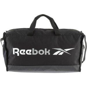 Reebok Sport Sportovní taška  černá / bílá