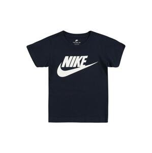Nike Sportswear Tričko 'Futura'  bílá / námořnická modř
