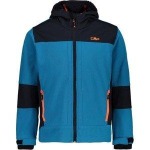 CMP Outdoorová bunda  tyrkysová / noční modrá / oranžová
