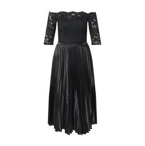 Chi Chi London Koktejlové šaty 'Anna-Marie'  černá