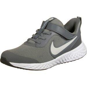 NIKE Sportovní boty 'Revolution 5'  šedá / tmavě šedá