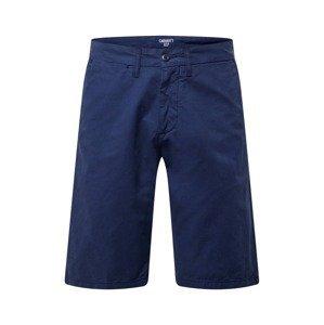 Carhartt WIP Kalhoty 'Johnson'  námořnická modř