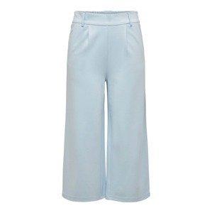 ONLY Kalhoty se sklady v pase  světlemodrá