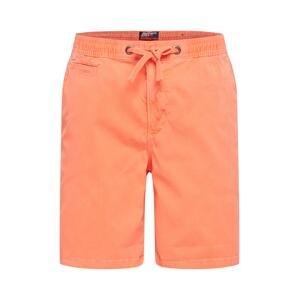 Superdry Chino kalhoty 'SUNSCORCHED CHINO SHORT'  oranžová