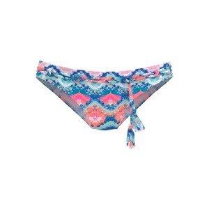 VENICE BEACH Spodní díl plavek  modrá / pink