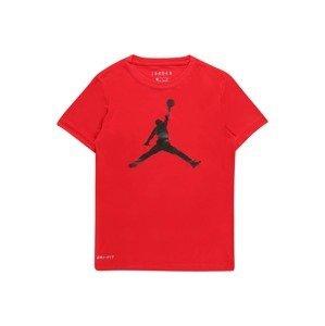 Jordan Tričko  červená / černá