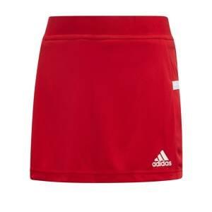 ADIDAS PERFORMANCE Sportovní kalhoty  červená / bílá