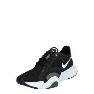 NIKE Sportovní boty 'SUPERREP GO'  bílá / šedá / černá