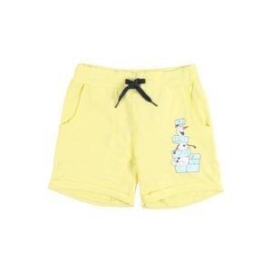 NAME IT Kalhoty 'NMMOLAF JOOS SHORTS WDI'  světle žlutá