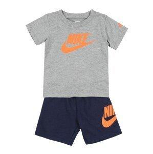 Nike Sportswear Sada 'NSW FRENCH TERRY SHORT SET'  námořnická modř / šedá