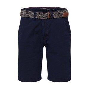 INDICODE JEANS Chino kalhoty 'Caedmon'  námořnická modř