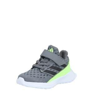 ADIDAS PERFORMANCE Sportovní boty 'RapidaRun'  šedá / svítivě zelená / černá