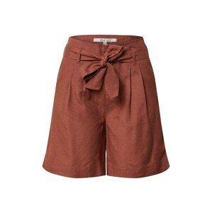 ONLY Kalhoty se sklady v pase 'VIVA LIFE'  hnědá