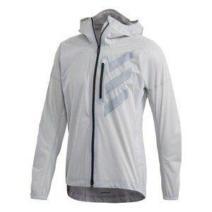 ADIDAS PERFORMANCE Sportovní bunda 'Terrex Agravic'  světle šedá / tmavě šedá / černá