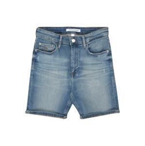 Calvin Klein Jeans Džíny 'TAPERED SHORT MNGR LIGHT BL STR'  modrá džínovina