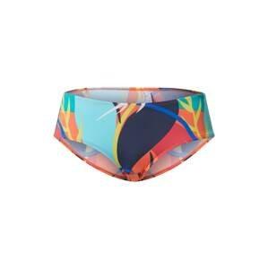 ESPRIT Spodní díl plavek 'Tilly Beach'  aqua modrá / námořnická modř / ohnivá červená / limone / korálová