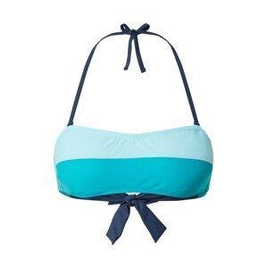 ESPRIT Horní díl plavek 'Ross Beach'  tmavě modrá / tyrkysová / světlemodrá