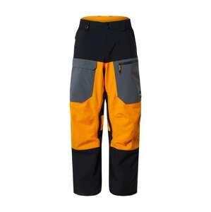 QUIKSILVER Outdoorové kalhoty  žlutá / černá