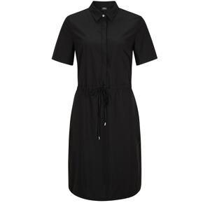 s.Oliver BLACK LABEL Košilové šaty  černá