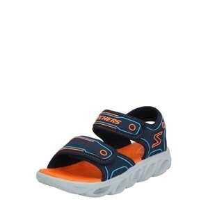 SKECHERS Otevřená obuv 'Hypno'  oranžová / námořnická modř