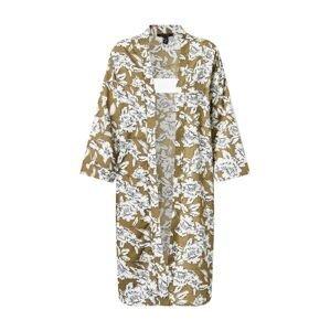 NEW LOOK Kimono 'DANA'  olivová / bílá