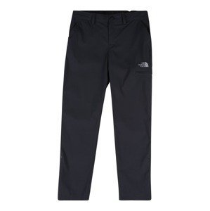 THE NORTH FACE Sportovní kalhoty 'Exploration'  tmavě šedá / bílá