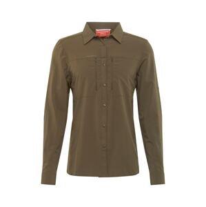 CRAGHOPPERS Funkční košile 'Pro'  olivová