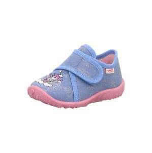SUPERFIT Pantofle 'Spotty'  kouřově modrá / růžová