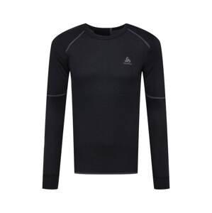 ODLO Funkční tričko  černá / tmavě šedá