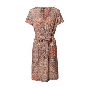 MORE & MORE Šaty  hnědá / mix barev / opálová / béžová / tmavě hnědá