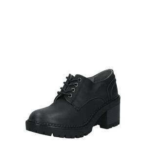 MTNG Šněrovací boty  černá