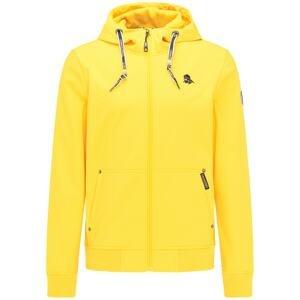 Schmuddelwedda Funkční bunda  žlutá / černá