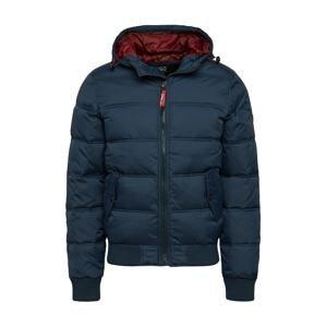 INDICODE JEANS Zimní bunda 'Adrian'  námořnická modř