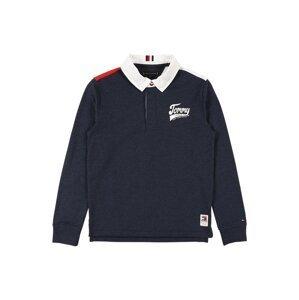 TOMMY HILFIGER Tričko  námořnická modř / bílá / červená