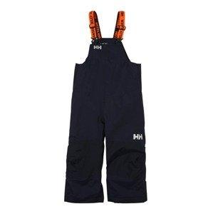 HELLY HANSEN Sportovní kalhoty 'RIDER 2'  námořnická modř / světle šedá / oranžová