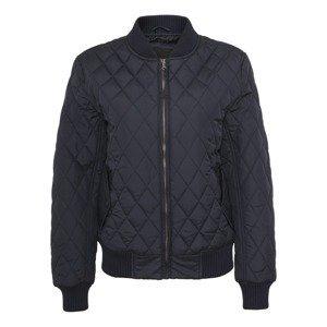 Urban Classics Přechodná bunda 'Diamond Quilt'  námořnická modř