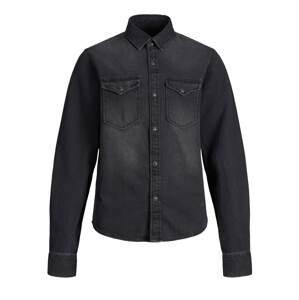 Jack & Jones Junior Košile 'Sheridan'  šedá džínová