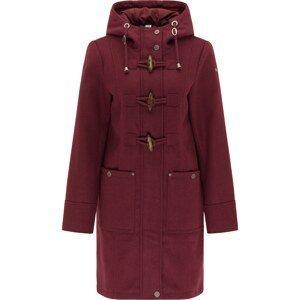 DreiMaster Vintage Přechodný kabát  burgundská červeň