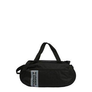 UNDER ARMOUR Sportovní taška 'ROLAND'  černá / světle šedá