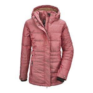 KILLTEC Outdoorová bunda 'Abrienne'  červený melír