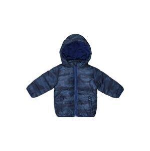 BLUE SEVEN Zimní bunda  modrá džínovina / tmavě modrá