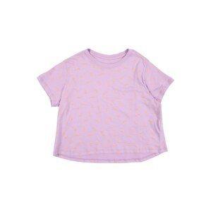 NIKE Funkční tričko  oranžová / světle fialová